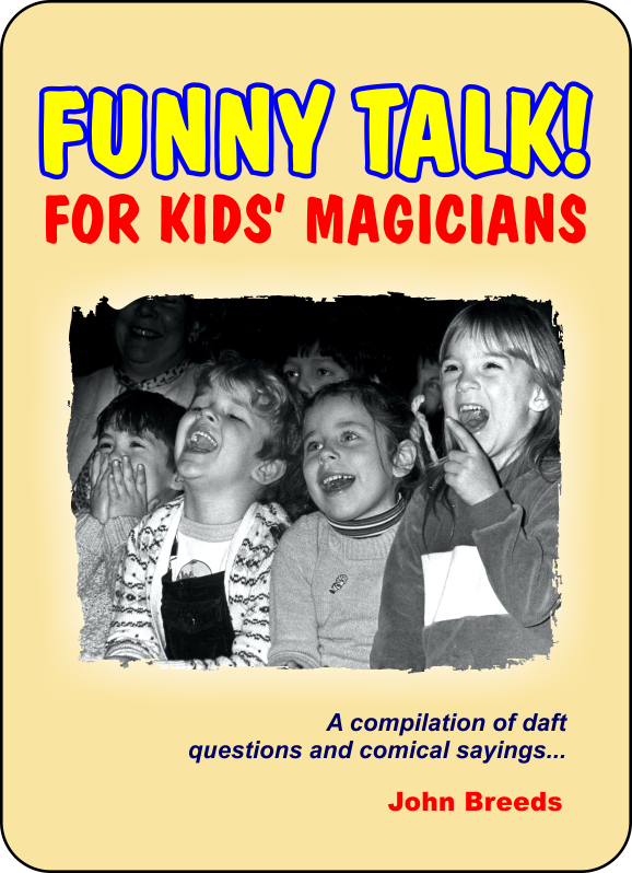 Flyer for Funny Talk! by John Breeds