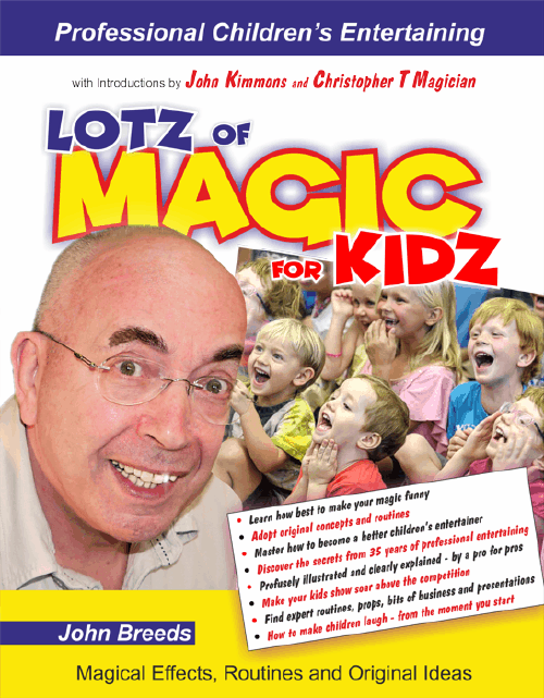 Front Cover of Lotz of Magic for Kidz by John Breeds